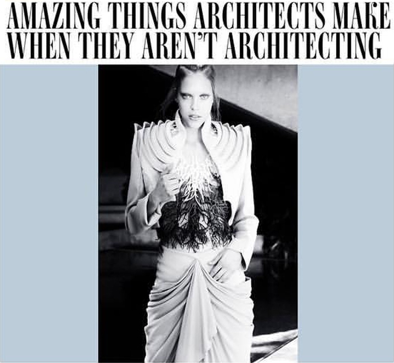 Amazing Things Architects Make When They Aren\'t Architecting | News ...